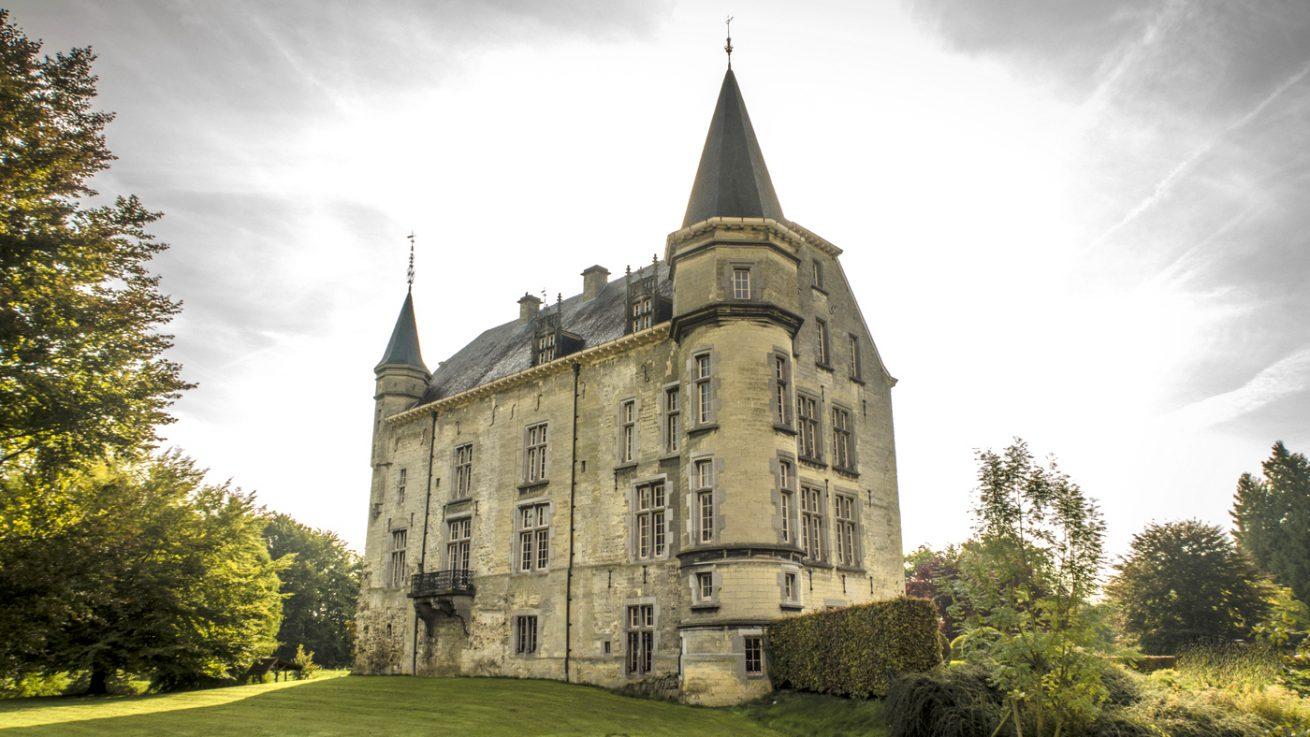 Kasteel Schaloen in Oud Valkenburg