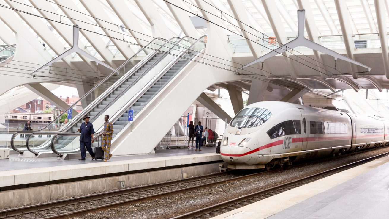 DB ICE   Gare de Guillemins   Liège (B)